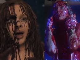 "5 Differences Between The New And Old 'Carrie'. 5 Differences Between The New And Old 'Carrie'. The new ""Carrie"" film featuring Chloe Grace. - 5-differences-between-the-new-and-old-carrie"