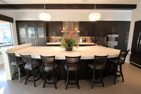 How Big Is A Kitchen Island How Much Room Do You Need Nice Kitchen Island With Seating For 6