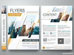Company Portfolio Template Unique Abstract Square In Cover Book Portfolio Presentation Poster Design