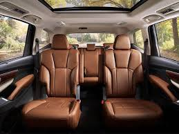 10 suvs with second row captain s chairs