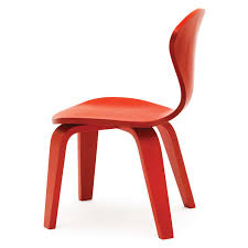 molded plywood chairs cherner modern red. cherner childrenu0027s chair orange seat u0026 legs side view molded plywood chairs modern red r