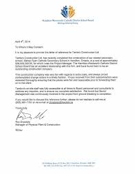 reference letters  construction hamiltonwentworth catholic district school board