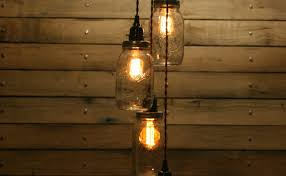 diy jar pendant light mason chandelier