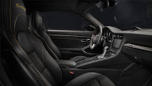 porsche 911 turbo s interior. stripe surrounding this the carbon interior package features fine copper thread for its trim and limited edition numbering on passengeru0027s side porsche 911 turbo s
