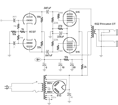 silvertone 1483 bass amp here s a schematic of the modified silvertone 1483 preamp