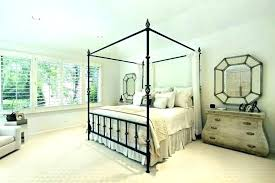 Iron Canopy Bed King Black Wrought Queen – Download House Beautiful Home
