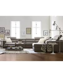 leather sectional couches. Contemporary Sectional This Item Is Part Of The Nevio Leather U0026 Fabric Power Reclining Sectional  Sofa With Articulating Headrests Collection Created For Macyu0027s Intended Couches