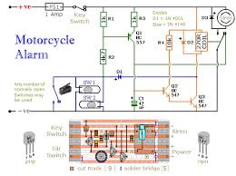 motorcycle alarm circuit diagram project alarms security motorcycle alarm circuit diagram