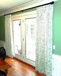 curtains over sliding glass doors door blinds best closet curtain panel revit