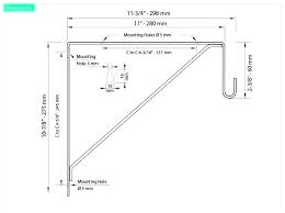 standard closet rod height