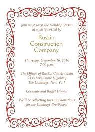 Company Holiday Party Invitation Wording Cocktail Party Invitation Letter Kanopydvd Com