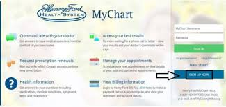 Henry Ford Health Chart Mychart Henry Ford Login Mychart Henry Ford Hospital Login