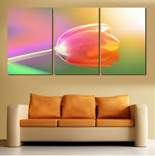 Large Painting For Living Room 5 Panel Large Modern Flower Butterfly Canvas Painting Cuadros Wall