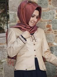 أحدث و أجمل أزياء الشتاء للمحجبات 2014