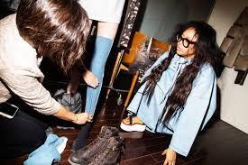 erykah badu debuts her stylist skills at pyer moss show 1 9