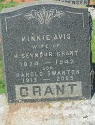 Minnie Avis Hubley Grant (1874-1942) - Find A Grave Memorial