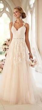 best 25 wedding dresses with straps ideas