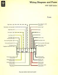 steering column fuse box thesamba com type 3 wiring diagrams 1961 3