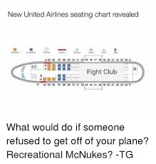 New United Airlines Seating Chart Revealed A 02 03 07 08 09