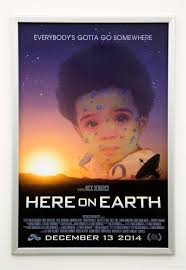 here on earth nick demarco dis magazine nick demarco movie poster 2014 digital print 40 x 27 inches edition