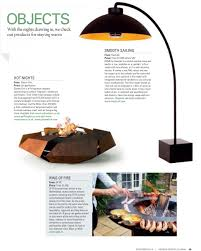 Small Picture Garden Design Journal GlammFire Exclusive Fireplaces