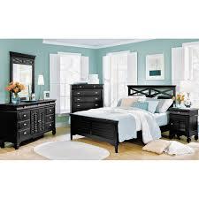 Plantation Bedroom Furniture Plantation Cove Dresser And Mirror Black Value City Furniture