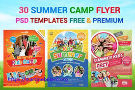 Sports Camp Flyer Template Unique Free Summer Camp Flyer Template