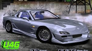 mazda rx7 2005. mazda rx7 spirit r type a need for speed most wanted 2005 car mods rx7 x