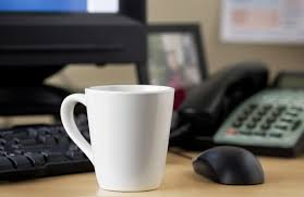 the office coffee mug. Twenty Percent Of Mugs At Work Contain Fecal Bacteria. The Culprit? Office Sponge. (Thinkstock) Coffee Mug