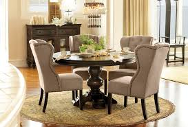 stunning design wingback dining room chairs trendy ideas wingback chair for dining table