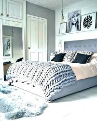 White Bedroom Rug Black Rugs For And Faux Fur Large Living Room ...