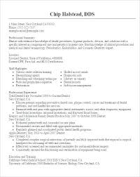 Resume Format For Doctors Dentist Resume Template Resume Format For