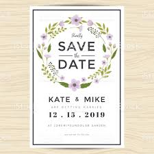 Save The Date Wedding Cards Template Free