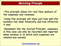 Accounting Principles – Accrual ...