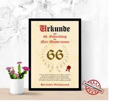 66 Geburtstag Mann Etsy Bild 2019 05 17
