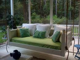 Diy Porch Swing Southern Pine Porch Bed Swing Image With Fabulous Diy Daybed Porch
