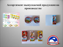 Презентация на тему Отчет о прохождении производственной  6 Ассортимент выпускаемой продукции на производстве