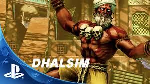 street fighter v dhalsim trailer ps4 youtube
