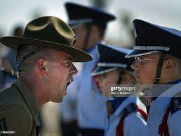 Staff Sgt. Rodney Cantrell, a senior drill sergeant instructor with... News  Photo - Getty Images