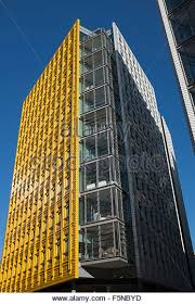 google london offices central st. Brightly Colored Office Blocks At Central St Giles London Where Google Has Its Offices - Stock S
