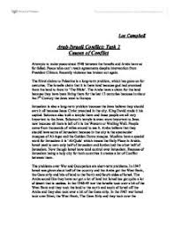 arab i conflict causes of conflict a level politics page 1 zoom in