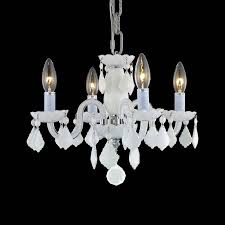 18 best chandelier images on chandeliers milk glass pertaining to attractive home white chandelier with crystals decor