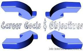career goals examples of career goals and objectives