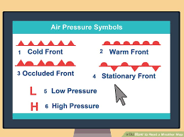 How To Read Weather Charts How To Read A Weather Map Punctual Weather Barometric
