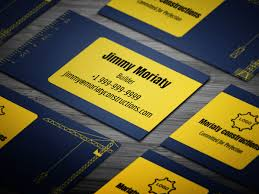 10 Free Business Cards 10 Free Professional Contractor Business Card Templates On