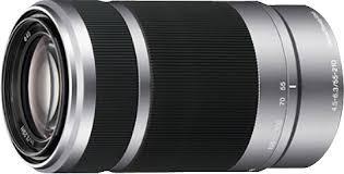 sony 55 210mm. sony - 55-210mm f/4.5-6.3 e-mount telephoto zoom lens 55 210mm 6