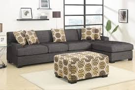 sleeper sofa interior trendy small scale sectional 10 two piece sofas with polka dot style chusion and table