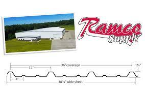 Metal R Panel Trim Manufacturer Ramco Supply In Indiana