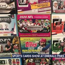 Here you can find our current selection of personal packs and boxes! Sports Cards Pokeman Show Will Take Place At Emerald Pines Barn