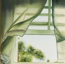 window with curtains blowing. Brilliant Curtains Open Window Curtain Blowing In Fresh Air On A Quiet Peaceful Inside With Curtains N